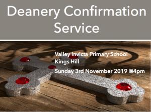 Deanery Confirmation Service @ Valley Invicta Primary School